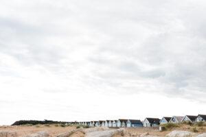 Mudeford beach huts