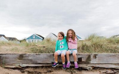 Beach days – Mudeford fun with friends