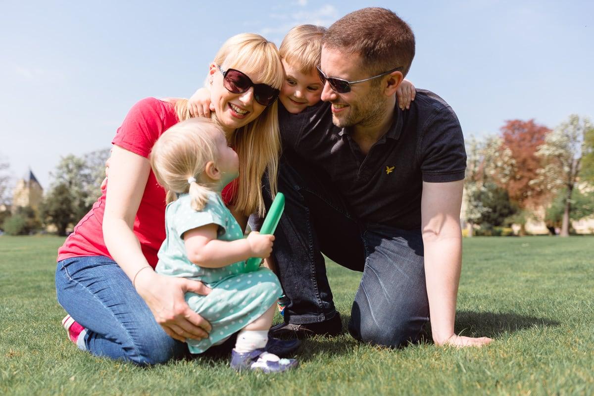 Family photoshoot at Fairfield Park, Stotfold
