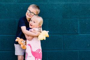 girl and boy at Fairfield Park
