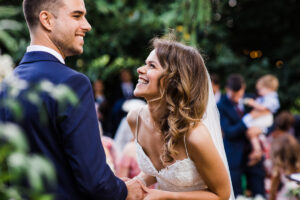couple getting married at Lodge Farm House, Hitchin