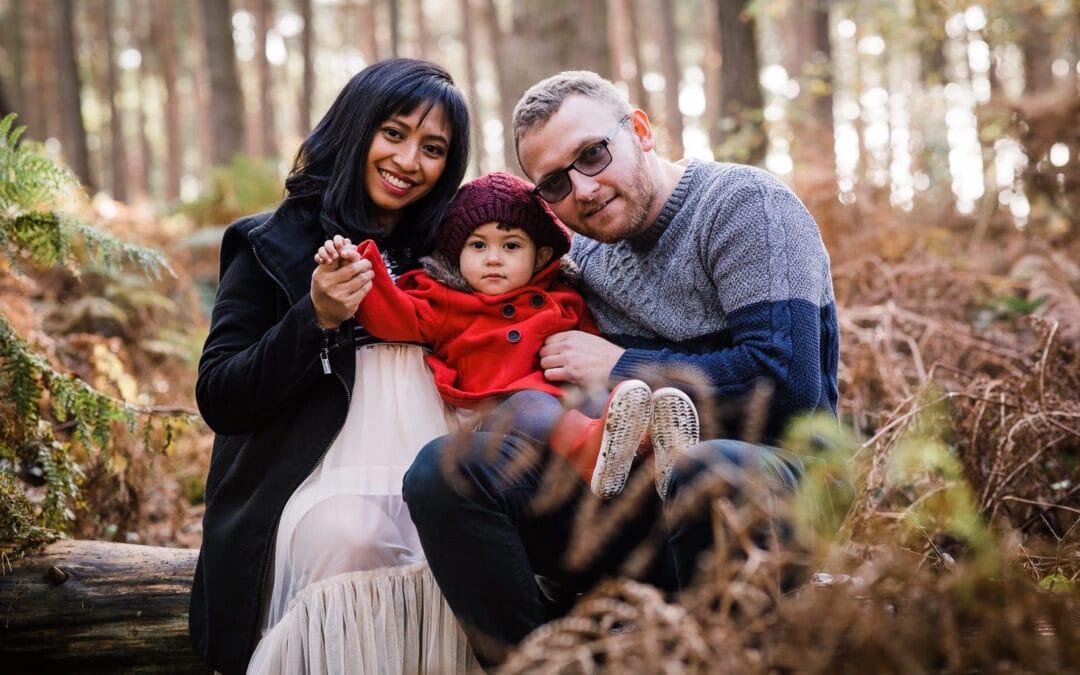 Bedfordshire Family Photographer | Rowney Warren Woods, Shefford