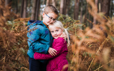 Hitchin Family Photographer | Outdoor Autumn Photoshoot